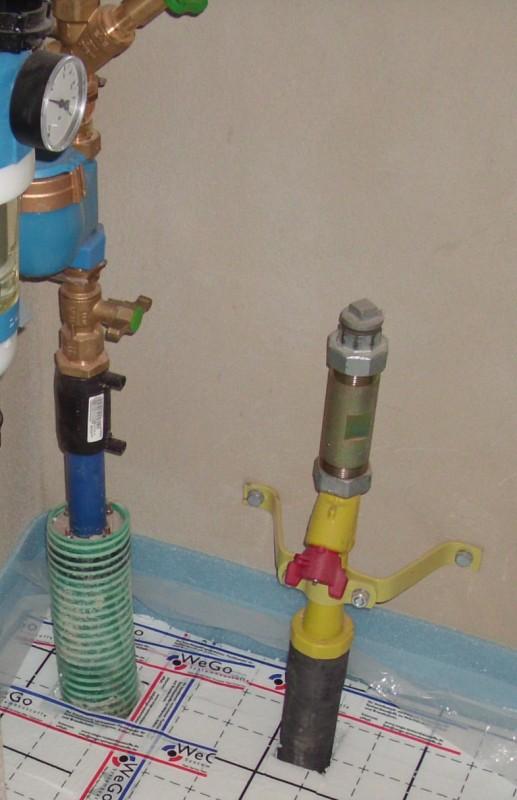 Gashausanschluss